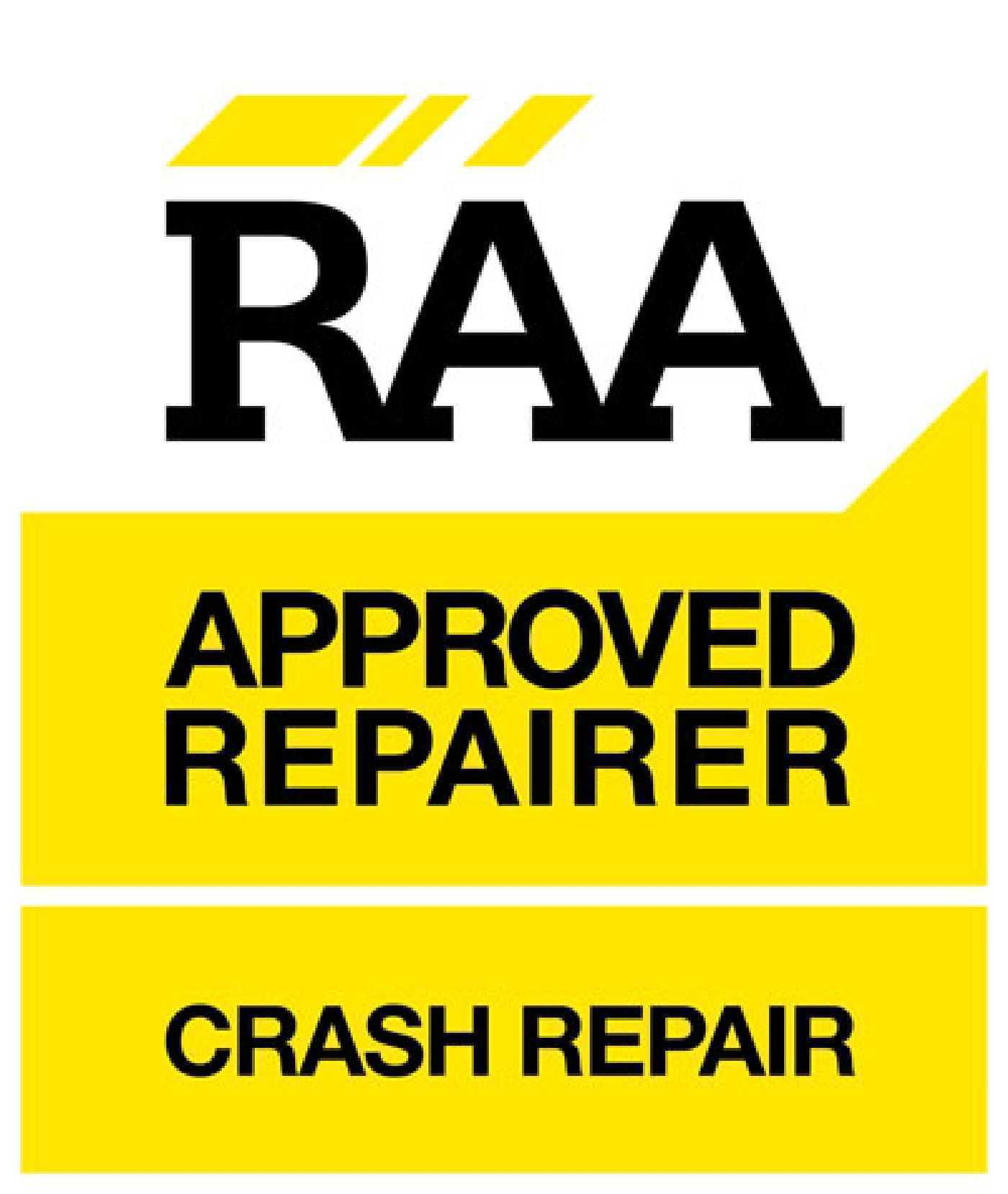 RAA Approved Repairer - Crash Repairs