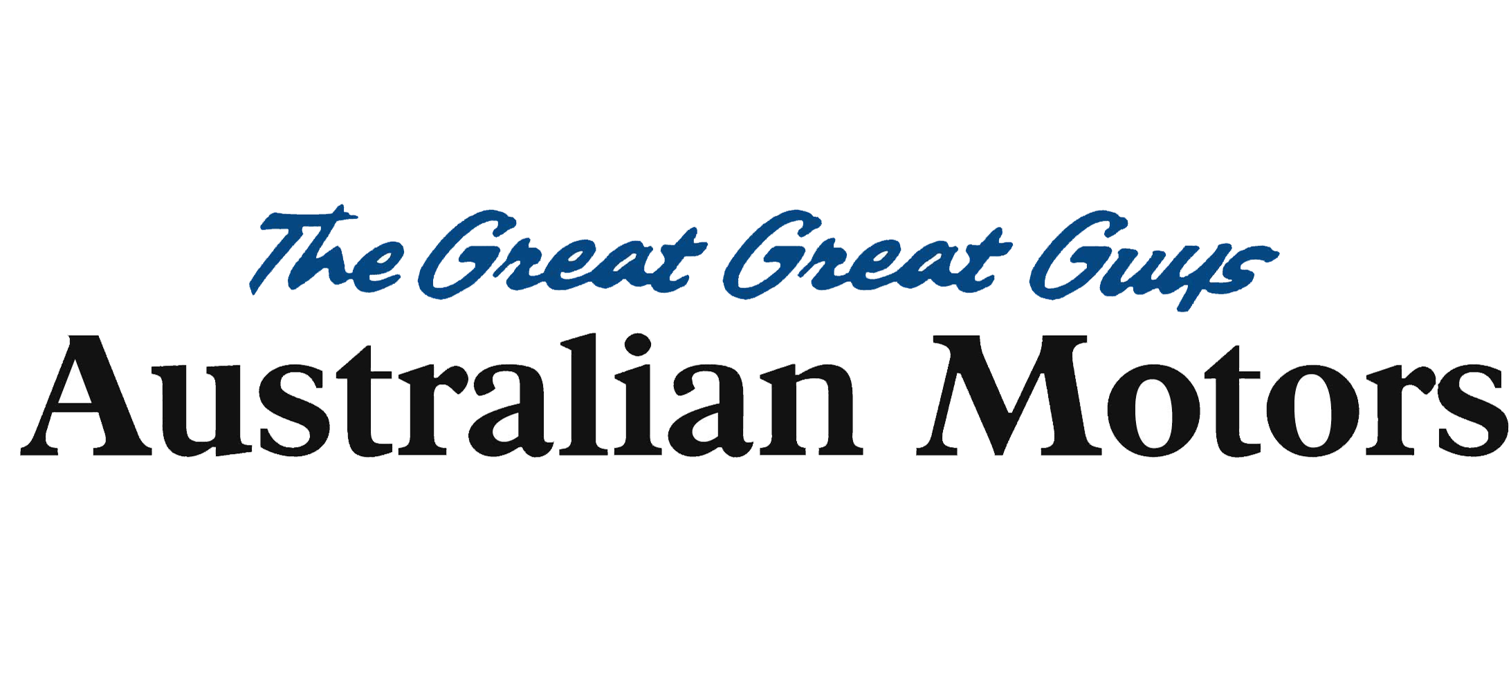 Great Australian Motors - The great great guys